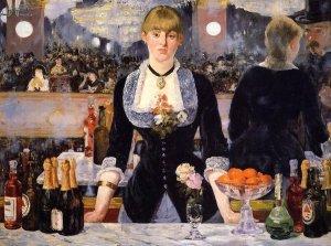 Édouard Manet - Un bar aux Folies-Bergere, 1881-2
