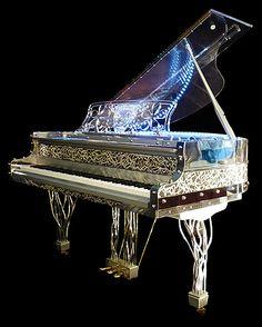 Crystal Grand Piano