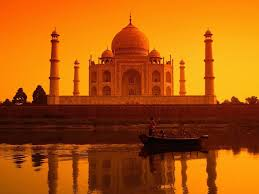 Sunset Taj Mahal